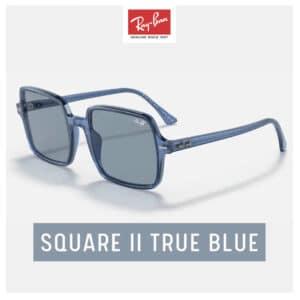 RayBan SQUARE II True Blue