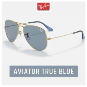 RayBan AVIATOR True Blue