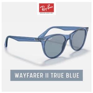 RayBan WAYFARER II True Blue